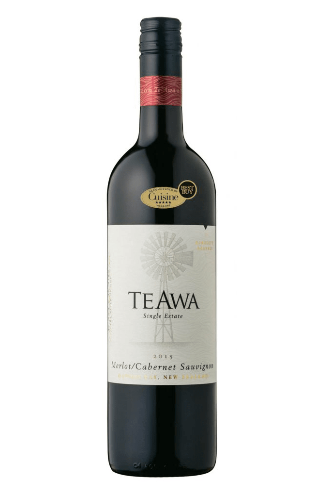 Te Awa Single Estate Hawke's Bay Merlot Cabernet Sauvignon 2015