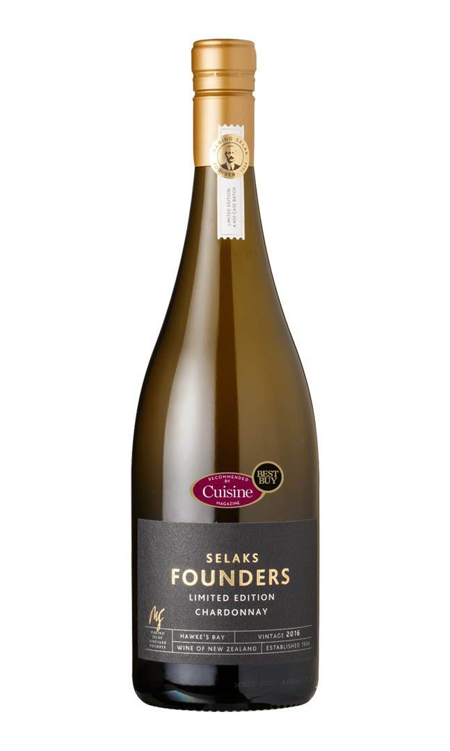 Selaks Founders Chardonnay 2016 (Hawke's Bay)