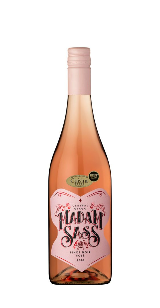 Madam Sass Rosé 2018 (Central Otago)