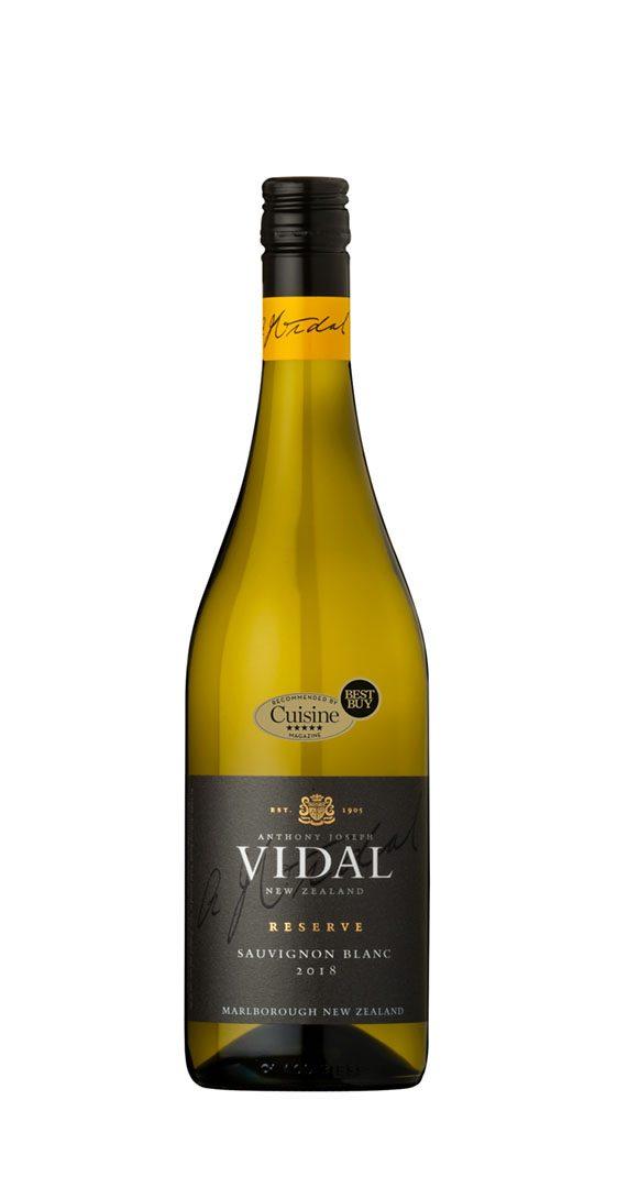 Vidal Reserve Sauvignon Blanc Marlborough 2018
