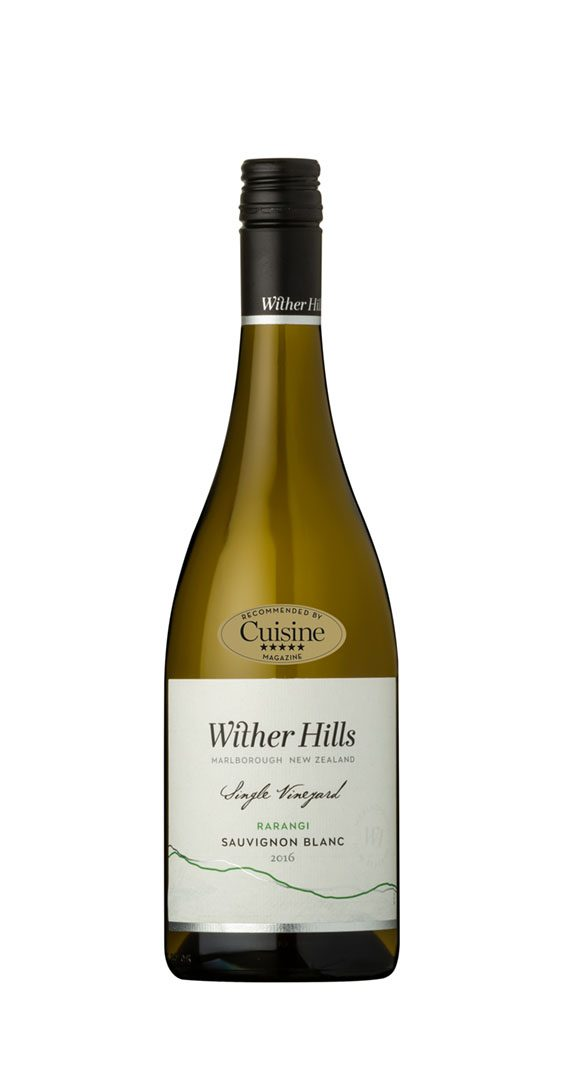 Wither Hills Rarangi Sauvignon Blanc 2016 (Marlborough)