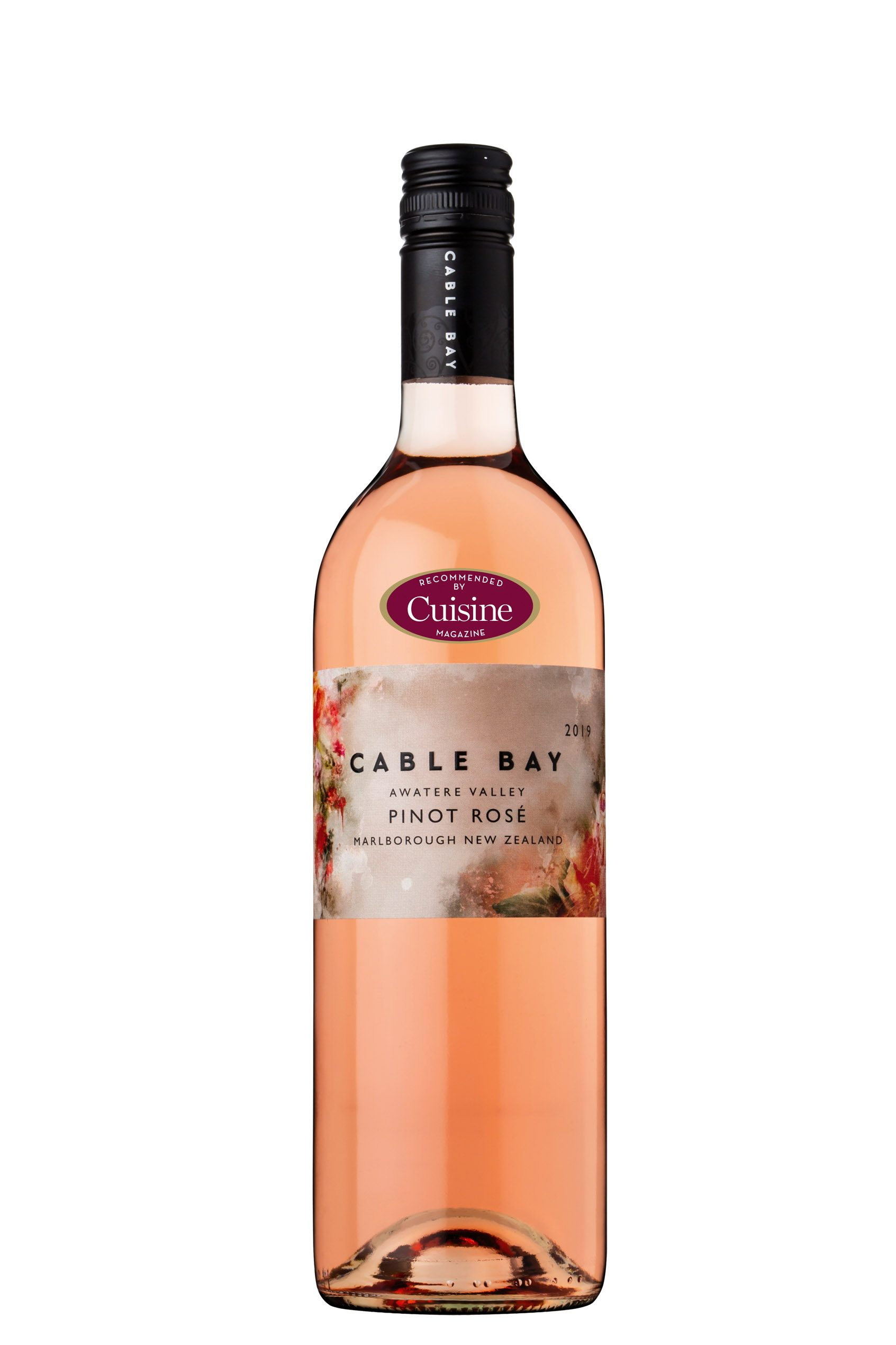 Cable Bay Awatere Valley Pinot Rosé 2019 (Marlborough)