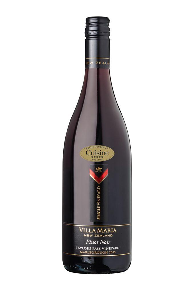 Villa Maria Single Vineyard Taylors Pass Pinot Noir 2015 (Marlborough)
