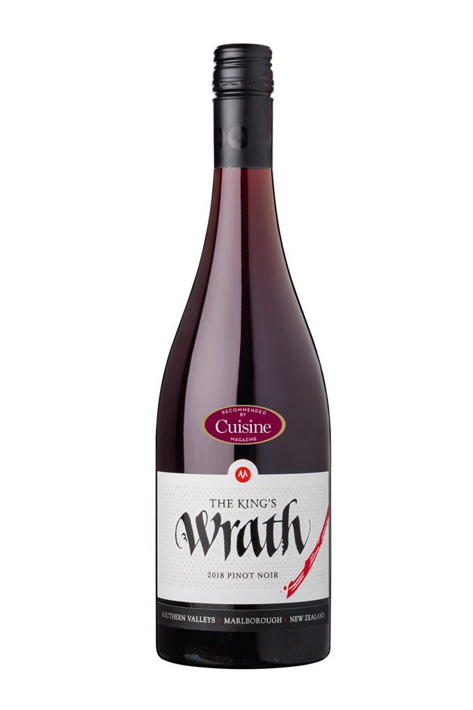 The King's Series Wrath Pinot Noir 2018 (Marlborough)