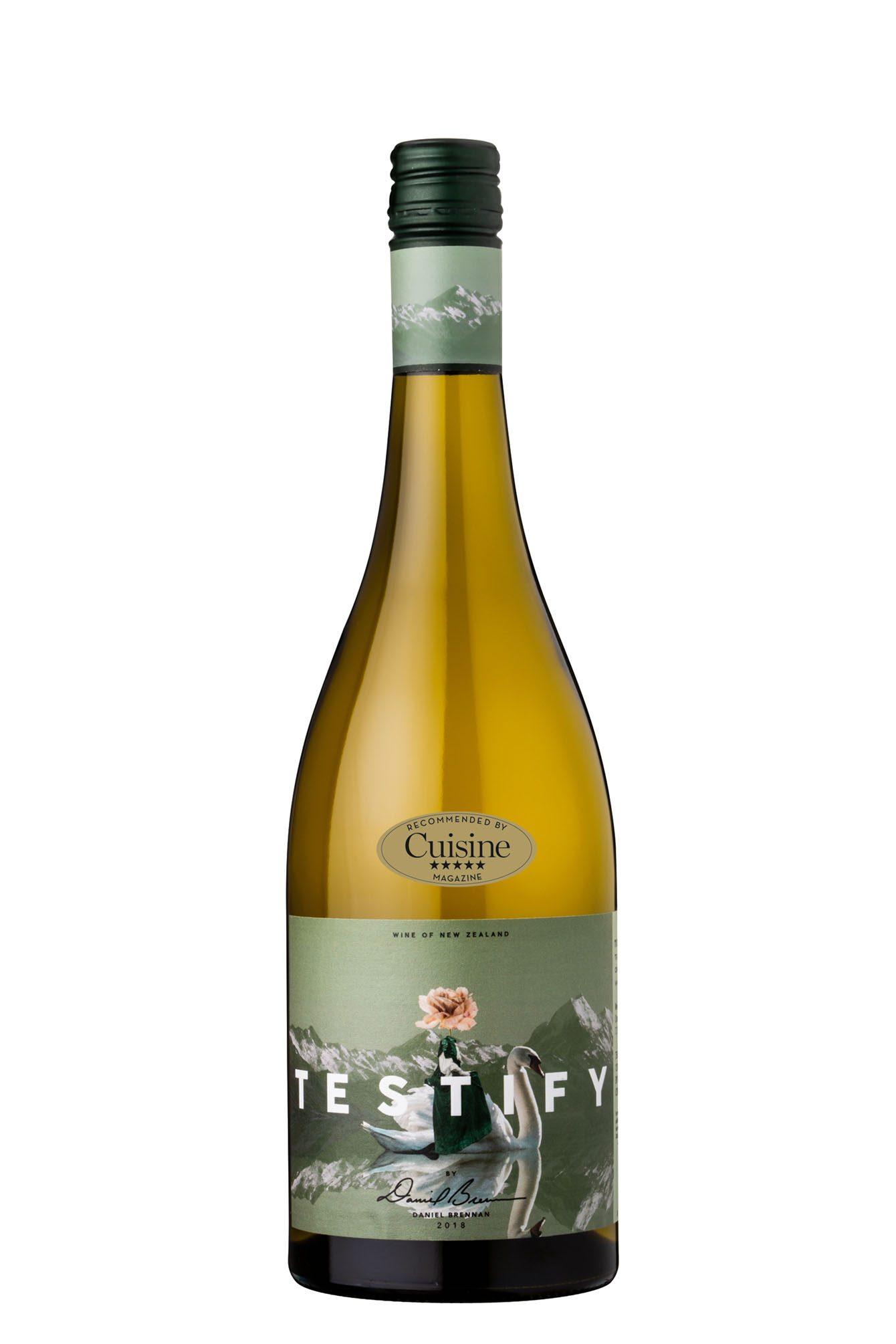 Decibel Wines Testify Chardonnay by Daniel Brennan 2018 (Hawke's Bay)