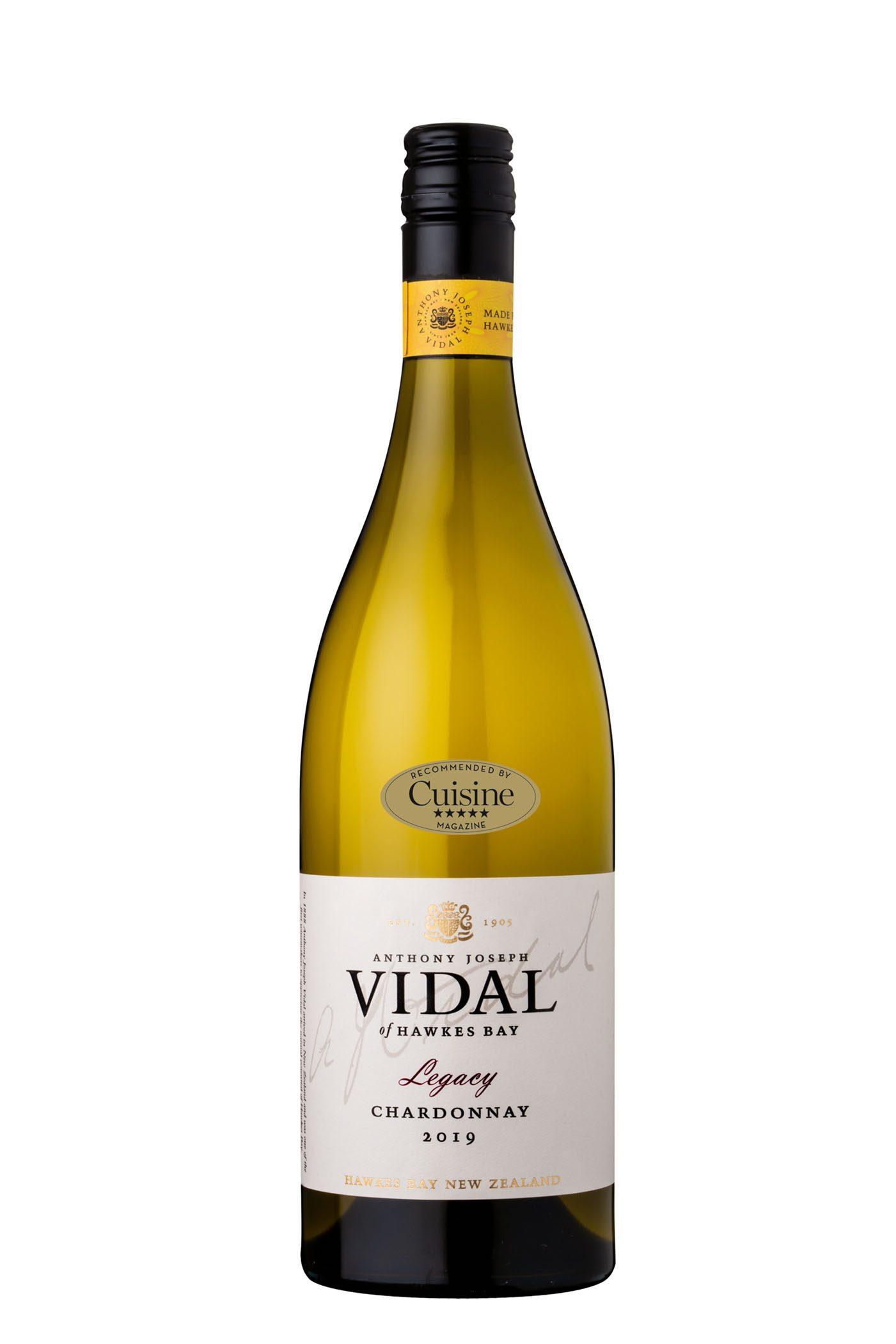 Vidal Legacy Hawke's Bay Chardonnay 2019