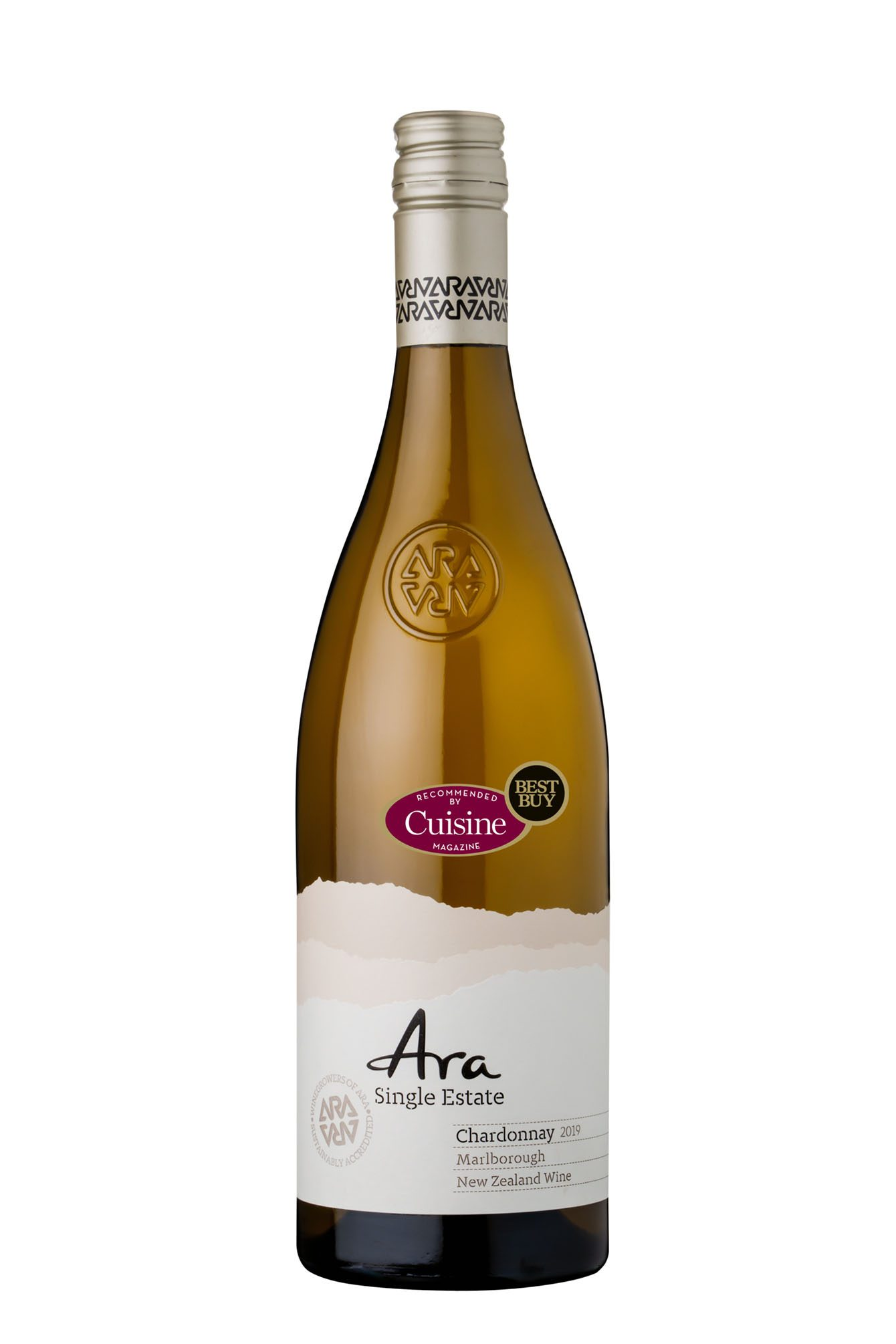 Ara Single Estate Chardonnay 2019 (Marlborough)