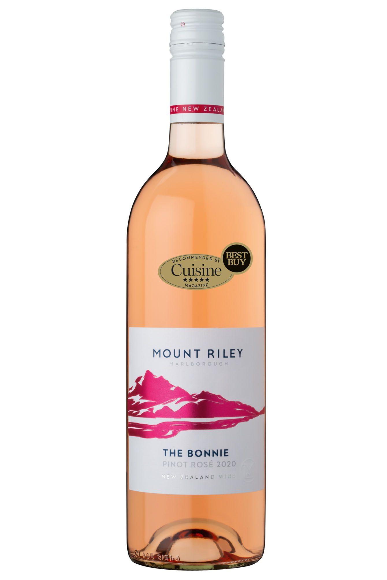 Mount Riley 'The Bonnie' Pinot Rosé 2020 (Marlborough)