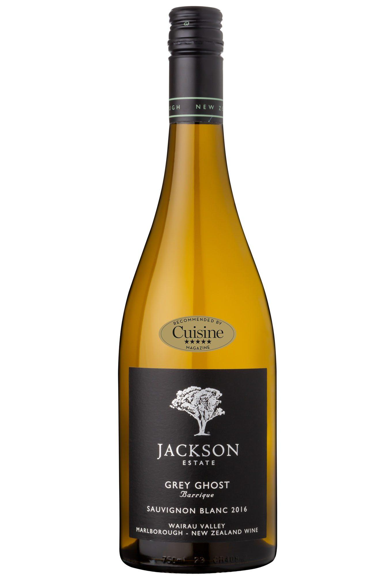 Jackson Estate Grey Ghost Barrique Sauvignon Blanc 2016 (Marlborough