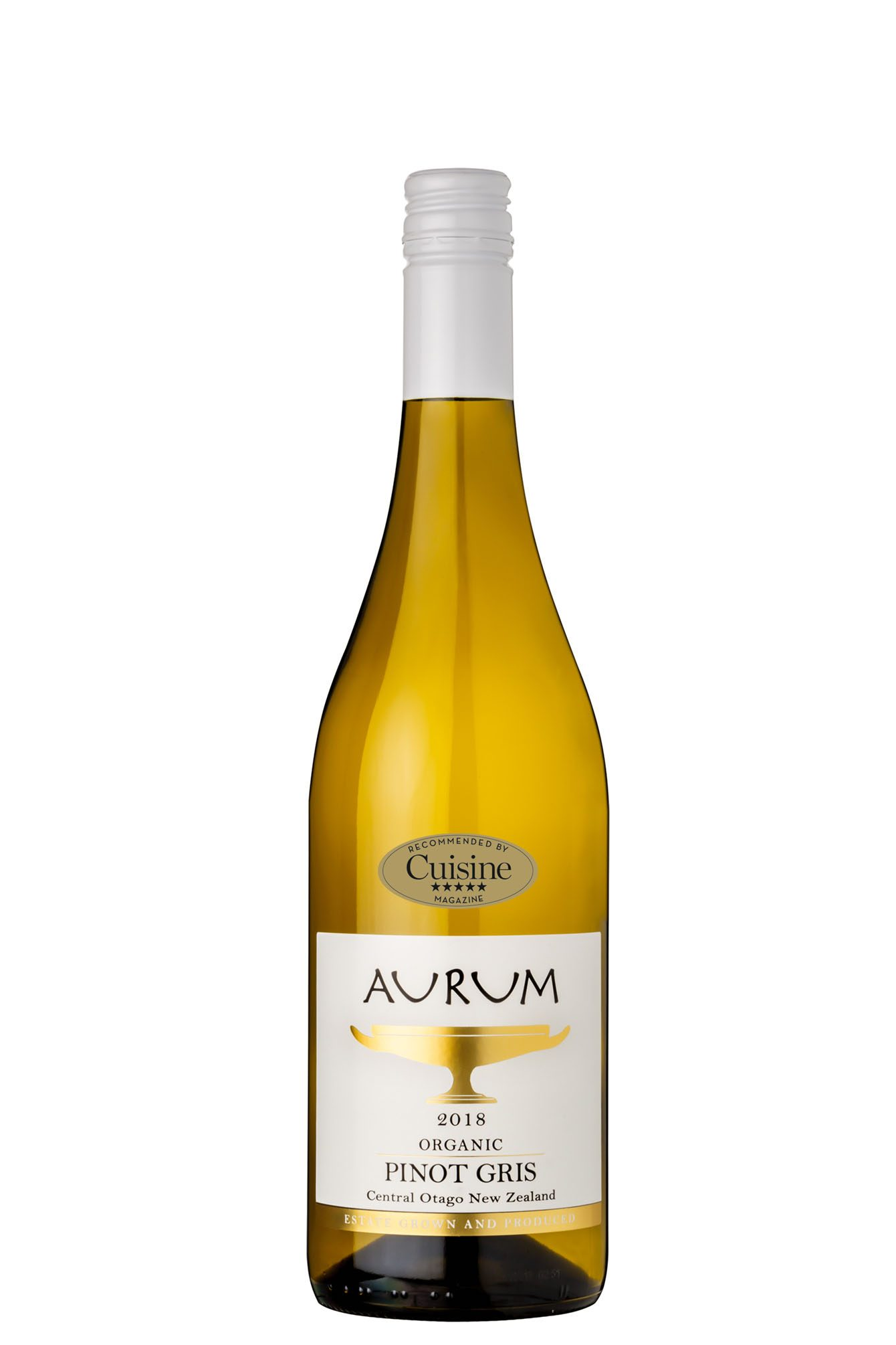 Aurum Organic Pinot Gris 2018 (Central Otago)
