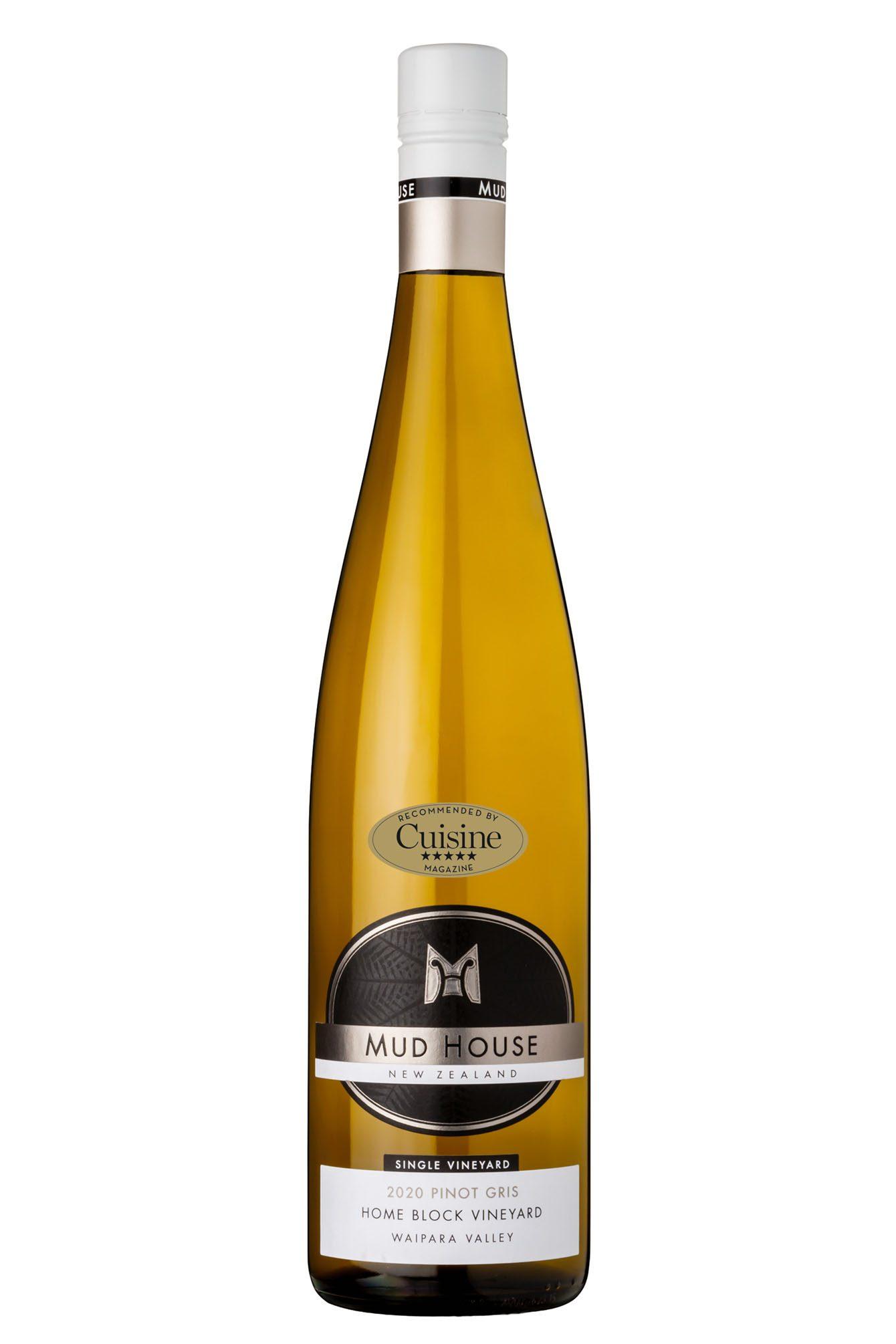 Mud House Single Vineyard Home Block Waipara Valley Pinot Gris 2020