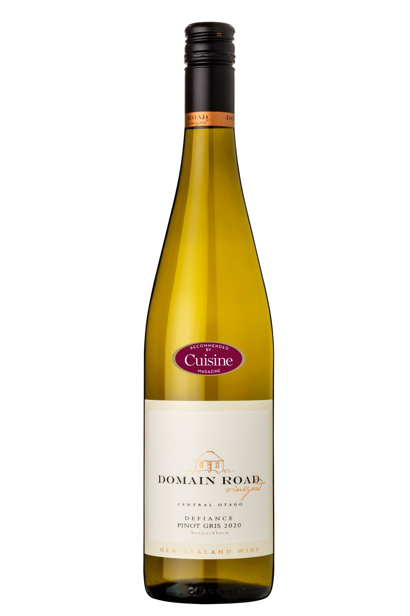 Domain Road Vineyard – Defiance Pinot Gris 2020 (Bannockburn)