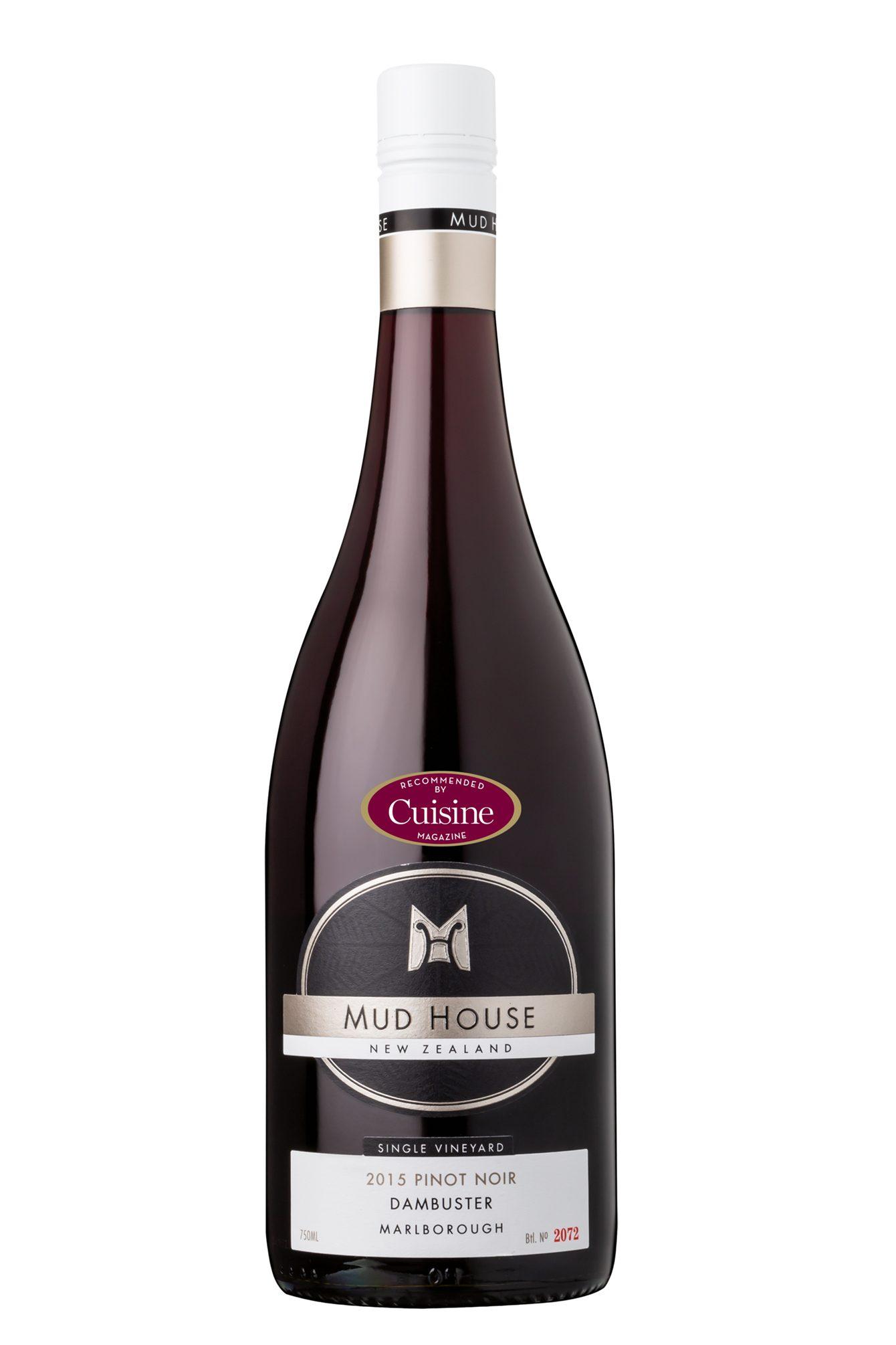 Mud House Single Vineyard Dambuster Marlborough Pinot Noir 2015