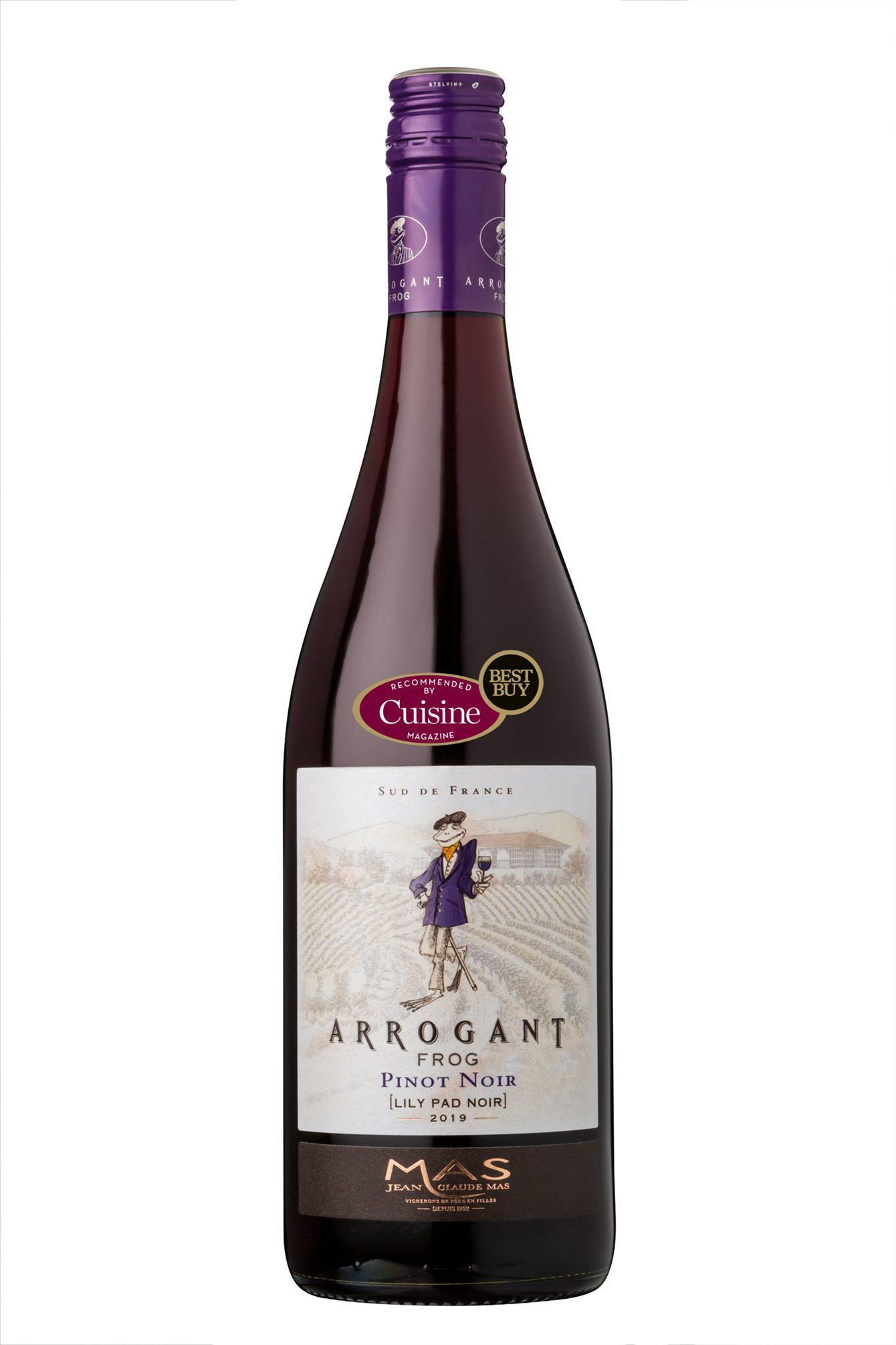 Arrogant Frog Lily Pad Pinot Noir 2019 (Languedoc, France)